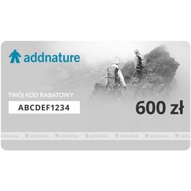 addnature Karta Upominkowa, 600 zł